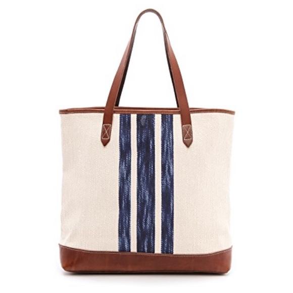 5fcb65caaaa07 Madewell Handbags - Madewell striped transport tote
